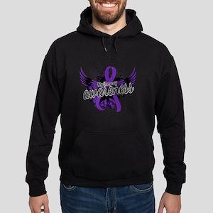 Epilepsy Awareness 16 Hoodie (dark)