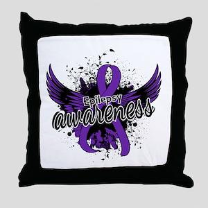 Epilepsy Awareness 16 Throw Pillow