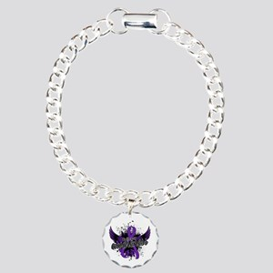 Epilepsy Awareness 16 Charm Bracelet, One Charm