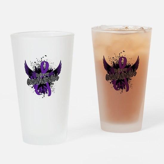 Epilepsy Awareness 16 Drinking Glass