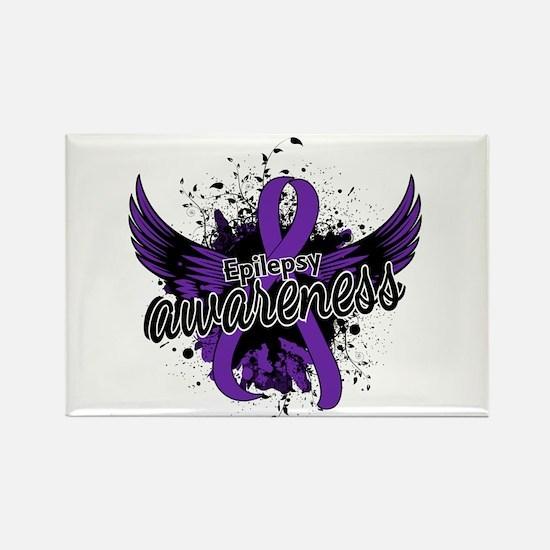 Epilepsy Awareness 16 Rectangle Magnet