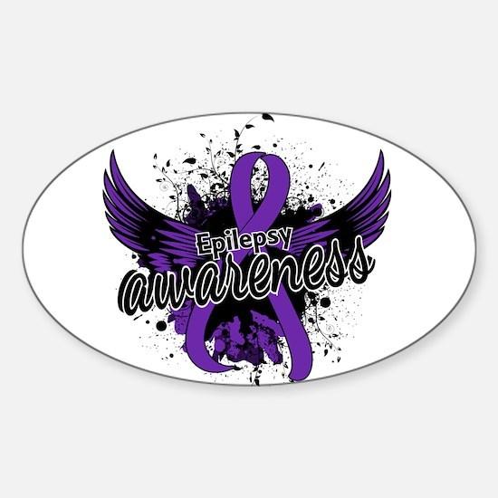 Epilepsy Awareness 16 Sticker (Oval)