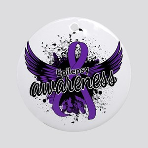 Epilepsy Awareness 16 Ornament (Round)