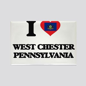 I love West Chester Pennsylvania Magnets