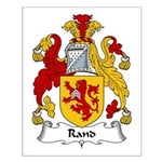 Rand Family Crest Small Poster
