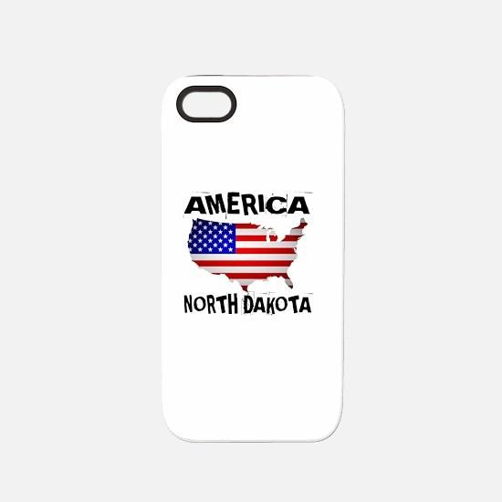 North Dakota American State iPhone 5/5S Tough Case