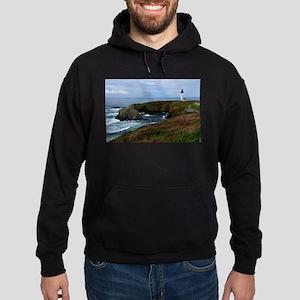 Yaquina Head Lighthouse Hoodie (dark)