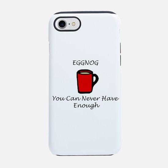 Eggnog iPhone 7 Tough Case