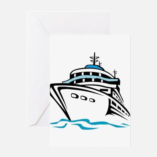 Cruising Greeting Cards