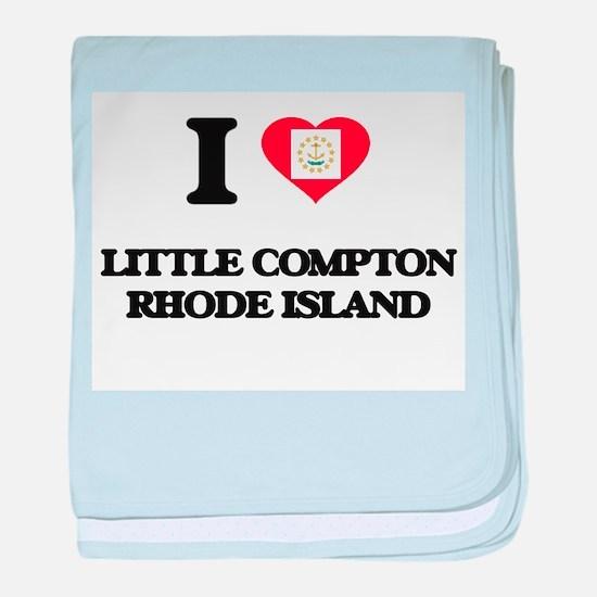 I love Little Compton Rhode Island baby blanket