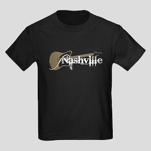 Nashville Guitar Kids Dark T-Shirt