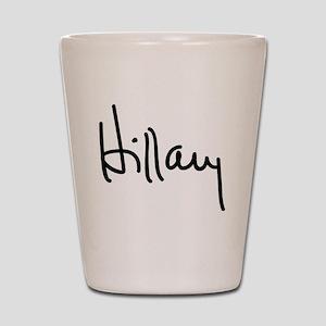Hillary Clinton Signature Shot Glass