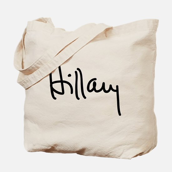 Hillary Clinton Signature Tote Bag