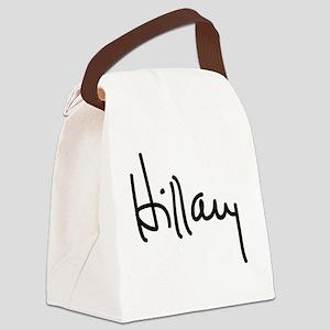 Hillary Clinton Signature Canvas Lunch Bag