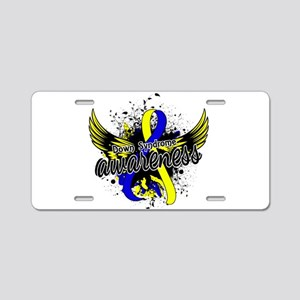 Down Syndrome Awareness 16 Aluminum License Plate