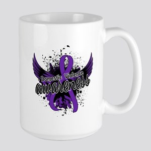Domestic Violence Awareness 16 Large Mug