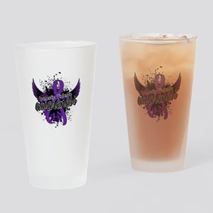 Domestic Violence Awareness 16 Drinking Glass