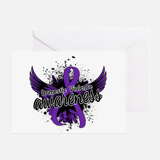 Domestic Violence Awareness 16 Greeting Card