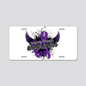 Domestic Violence Awareness Aluminum License Plate
