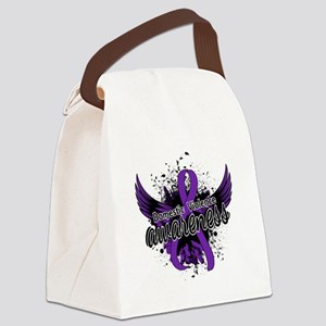 Domestic Violence Awareness 16 Canvas Lunch Bag