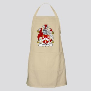 Priestley Family Crest BBQ Apron