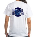 OES Paranormal White T-Shirt