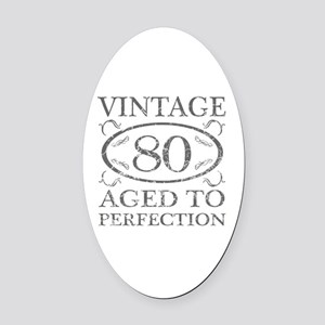 A cool birthday gift idea for men  Oval Car Magnet