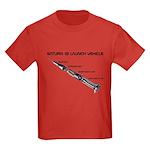 Saturn 1B Kids Dark T-Shirt