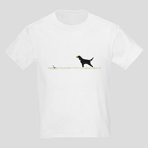 Gordon Setter on Chukar Kids Light T-Shirt