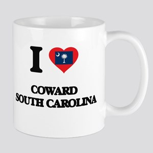 I love Coward South Carolina Mugs