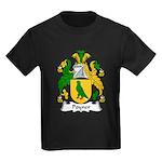 Poyner Family Crest Kids Dark T-Shirt