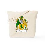 Poyner Family Crest Tote Bag