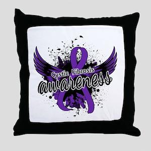 Cystic Fibrosis Awareness 16 Throw Pillow