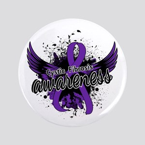 Cystic Fibrosis Awareness 16 Button
