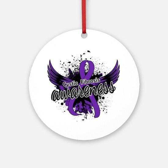 Cystic Fibrosis Awareness 16 Ornament (Round)