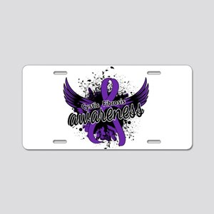 Cystic Fibrosis Awareness 1 Aluminum License Plate