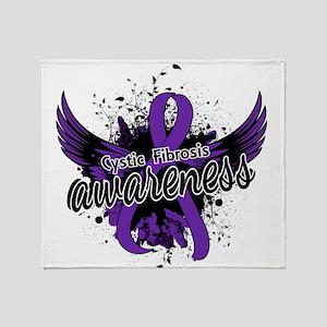 Cystic fibrosis tattoos ribbon