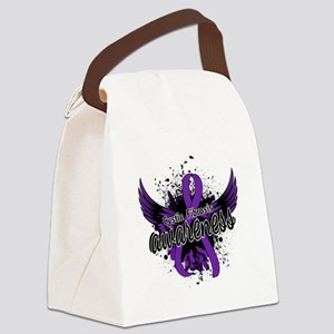 Cystic Fibrosis Awareness 16 Canvas Lunch Bag