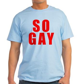 Red So Gay Light T-Shirt