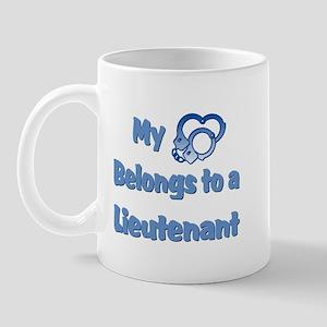Lieutenant Heart Mug