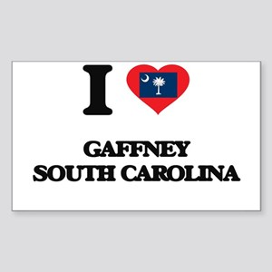 I love Gaffney South Carolina Sticker