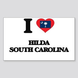 I love Hilda South Carolina Sticker