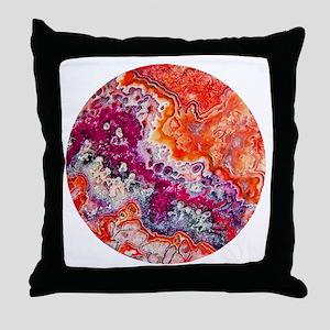 Passion Stone Throw Pillow