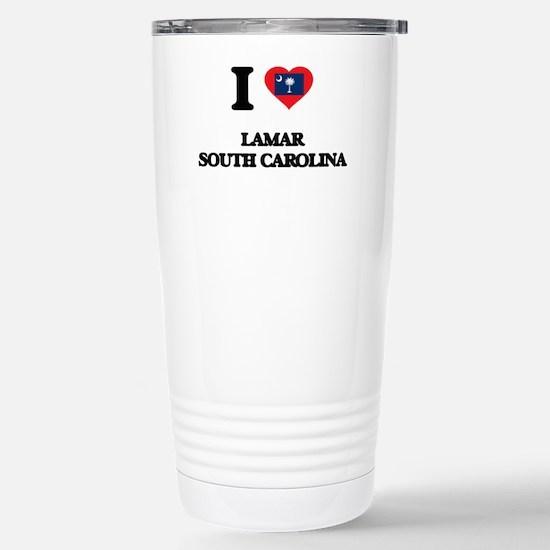 I love Lamar South Caro Stainless Steel Travel Mug