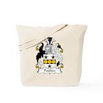 Poulton Family Crest Tote Bag