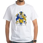Pott Family Crest White T-Shirt