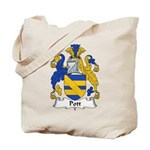 Pott Family Crest Tote Bag