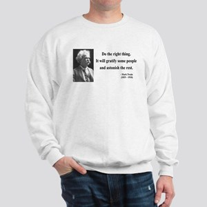 Mark Twain 4 Sweatshirt