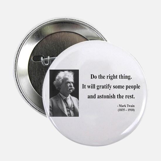 """Mark Twain 4 2.25"""" Button"""