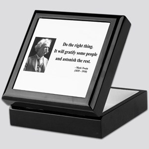 Mark Twain 4 Keepsake Box